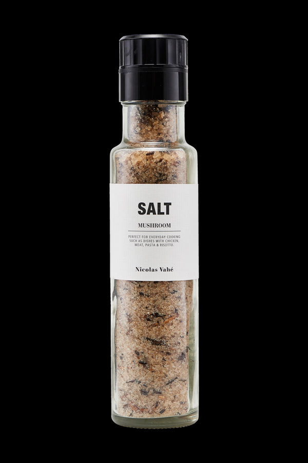 SALT, MUSHROOMS