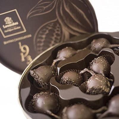 Dark Leonidas Belgian Chocolate Covered Cherries in Liquor Cream, 22 Piece Cerisette in a Dora Gift Box. Leonidas Kensington
