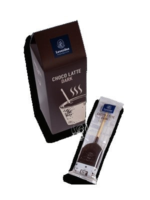 Leonidas Belgian Chocolates: Choco Latte Dark, Stir Stick Hot Chocolate Set of 2 Boxes (5 Pack) Leonidas Kensington