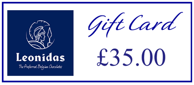 Leonidas Kensington Exclusive Chocolatier Gift Card Leonidas Kensington