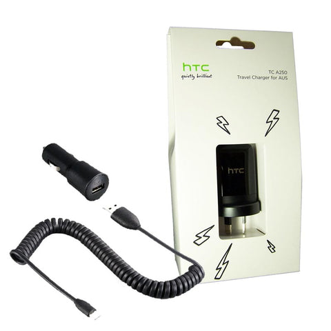 HTC Wall & Car Charger Pack