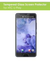 Tempered Glass Screen Protector for HTC U Play