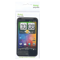 HTC Incredible S Screen Protector - 2 Pack