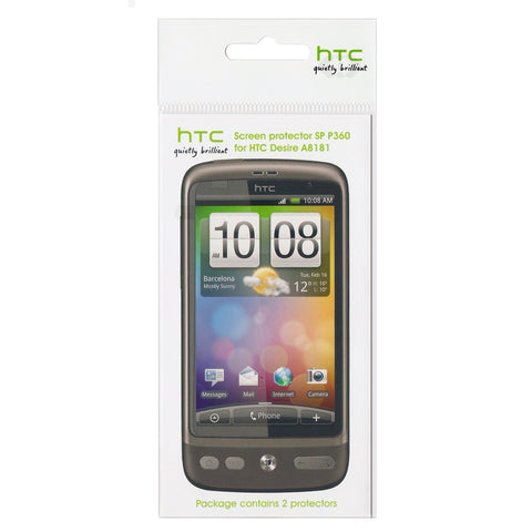 HTC Desire Screen Protector - 2 Pack