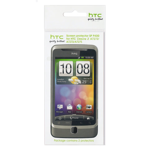 HTC Desire Z Screen Protector - 2 Pack
