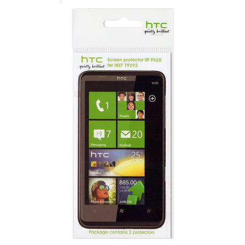 HTC HD7 Screen Protector - 2 Pack