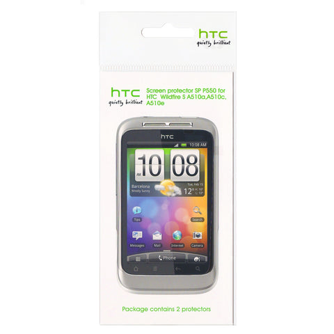 HTC Wildfire S Screen Protector - 2 Pack