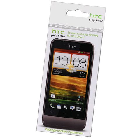 HTC One V Screen Protector - 2 Pack