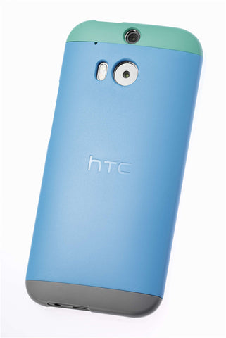 HTC One (M8/M8s) Double Dip Shell Blue