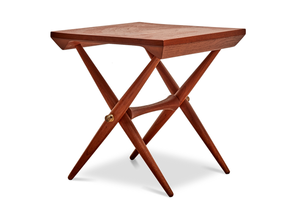 Solid Teak Danish Side Table by Jens Quistgaard