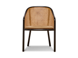 Bentwood and Cane Armchair by Ward Bennett