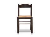 Italian Black Lacquer Chairs