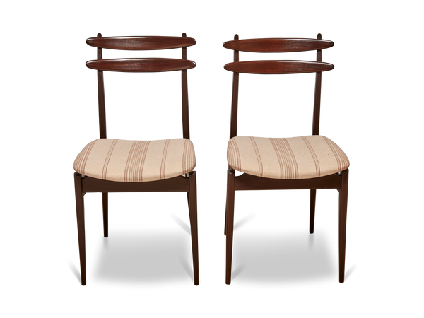 Italian Teak Dining Chairs by Vittorio Dassi