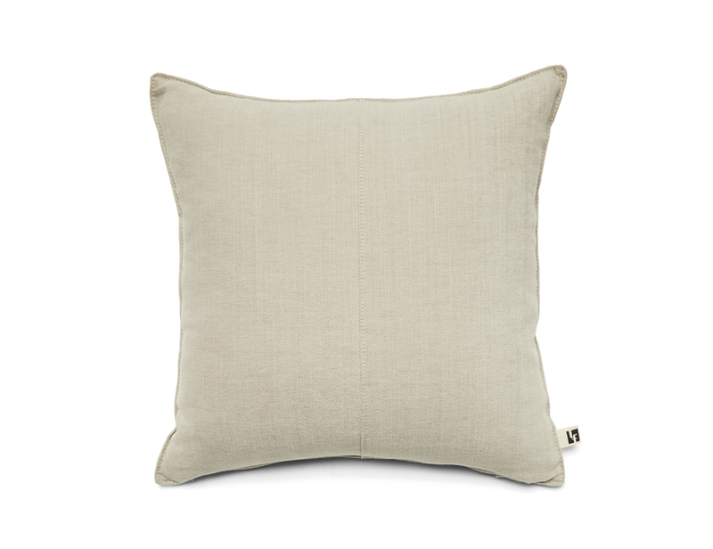 Washable Linen Pillow - Chamois