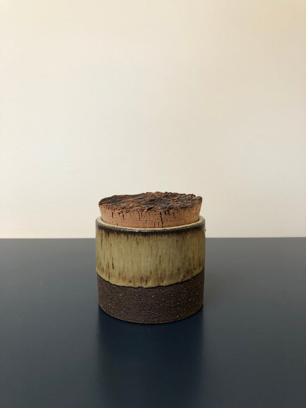 Canister w/ Bark Top