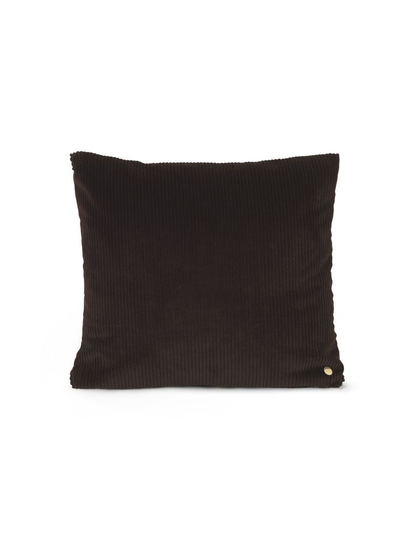 Corduroy Cushion - Chocolate