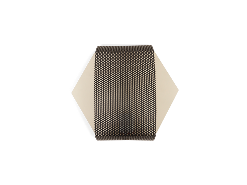 Hexagon Perforated Sconce