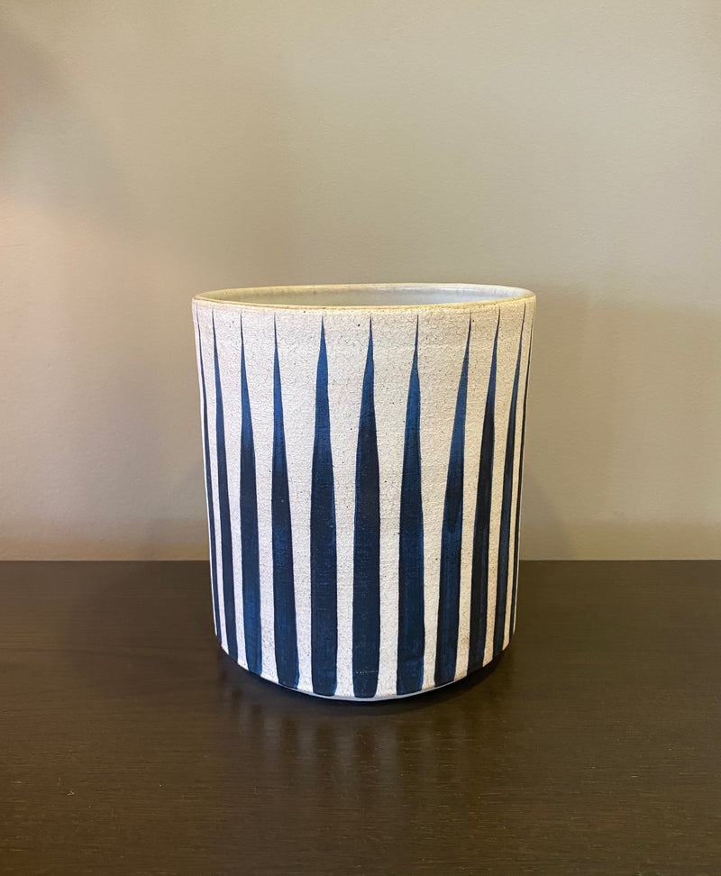 Vessel Wide - Stripes Indigo
