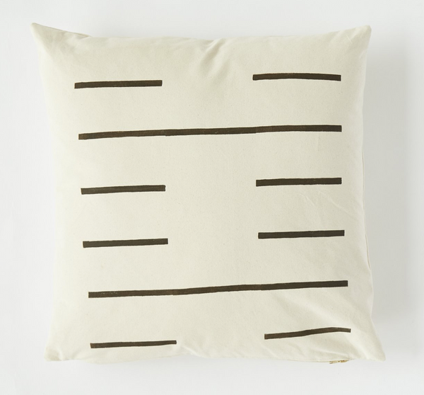 K'un Canvas Pillow 22w x 22d