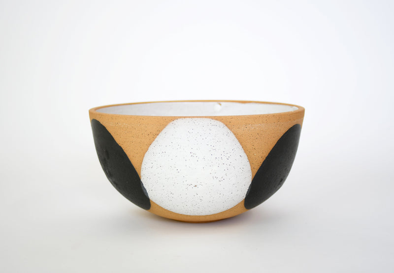 Lucia Black and White Bowl - Large