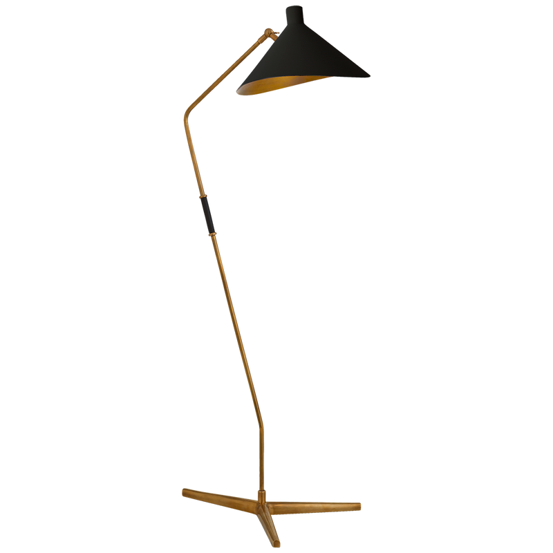 RENTAL DI-Mayotte Large Offset Floor Lamp 16w x 56h