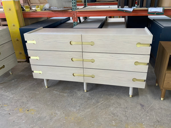 Niguel Six Drawer Dresser- 60""