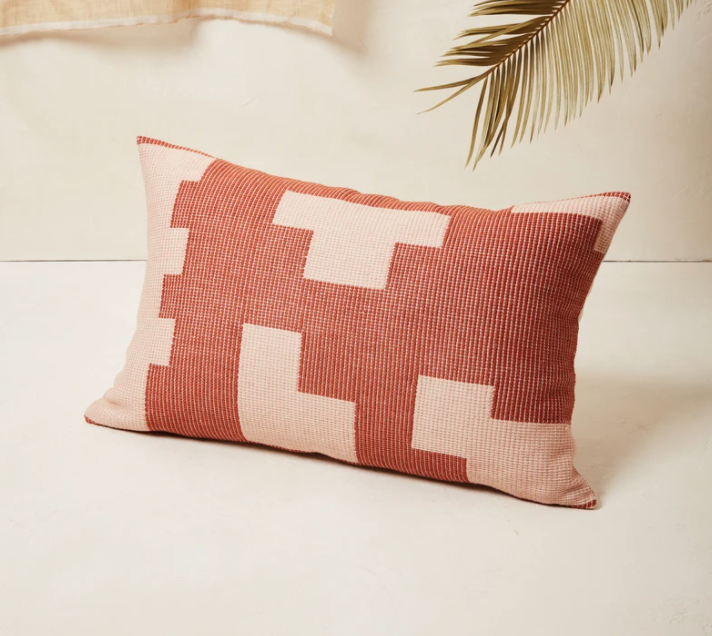 Puzzle Lumbar Pillow
