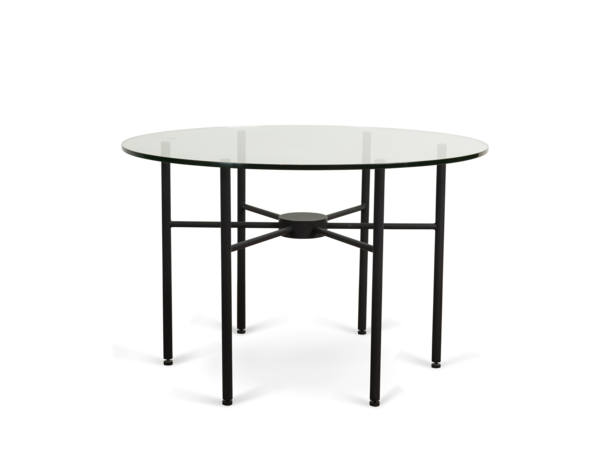Radial Side Table - Matte Black