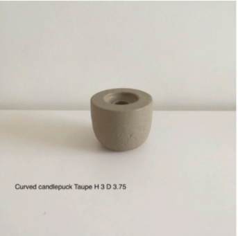Curved Candle Puck