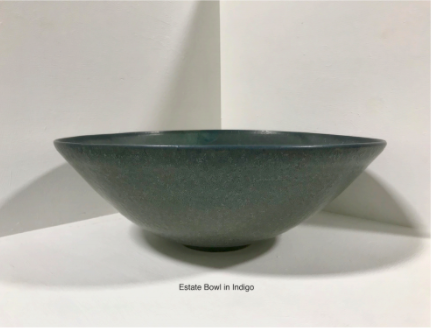 Estate Bowl in Indigo