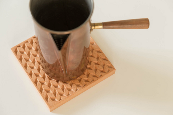 Herringbone Trivet - Cherry