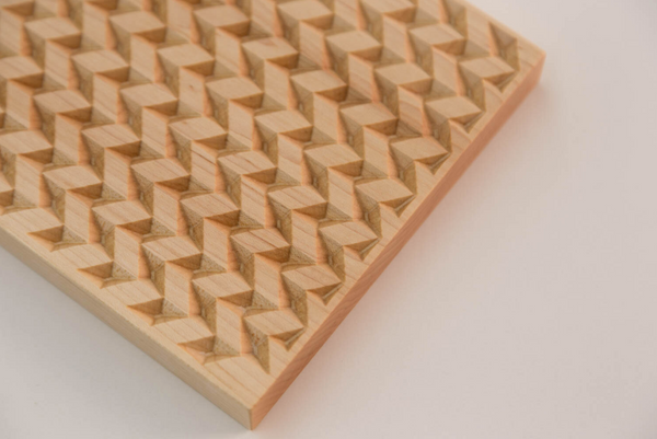 Herringbone Trivet - Maple