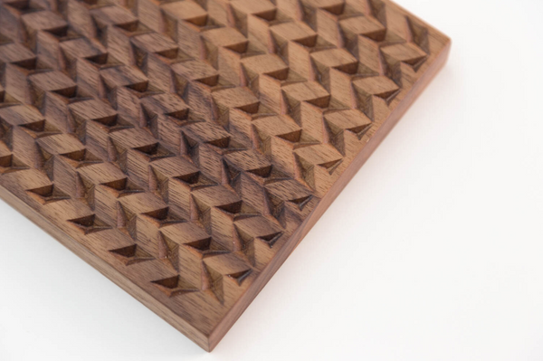Herringbone Trivet - Walnut