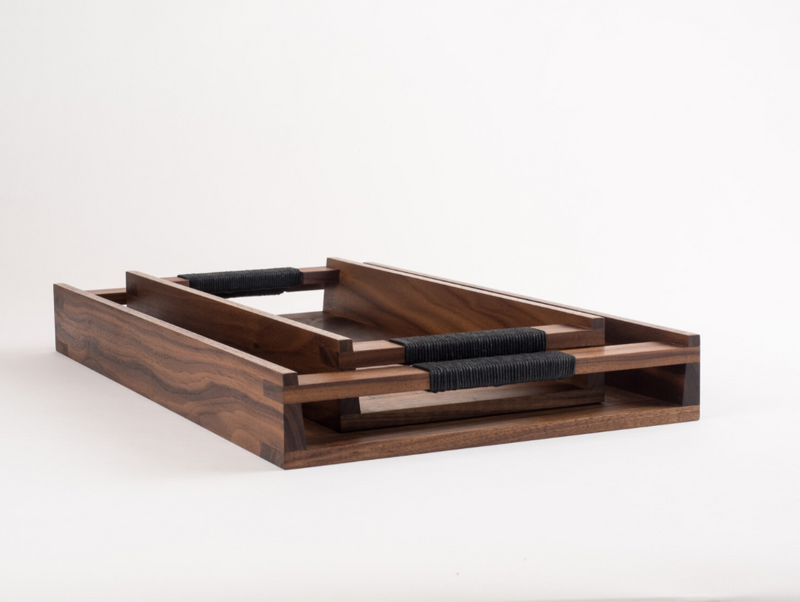 Rectangle Tray - Walnut - Large