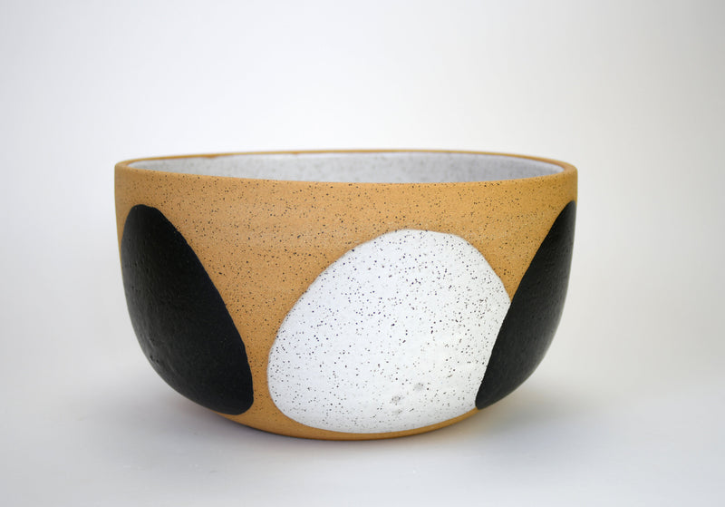Lucia Black and White Bowl - XL