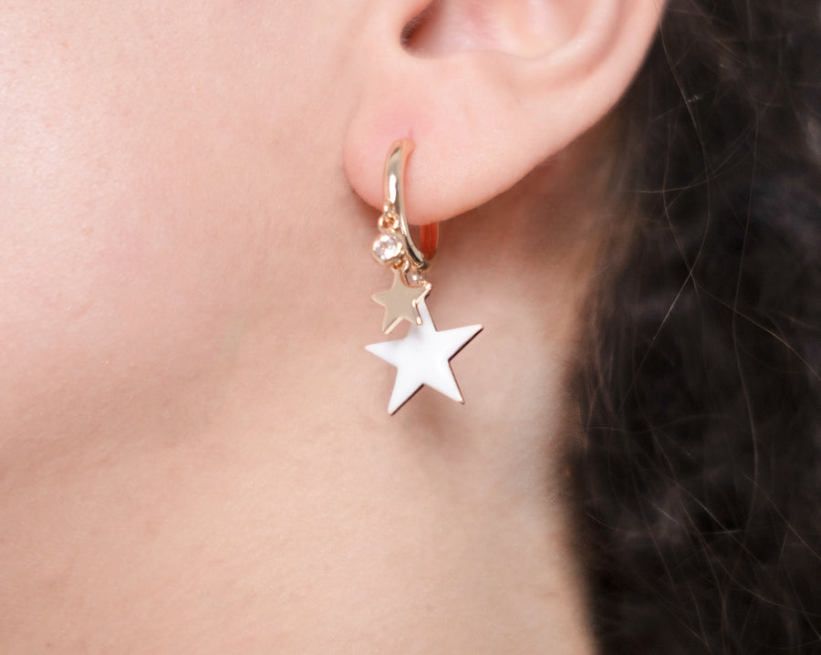 Two Stars Earrings