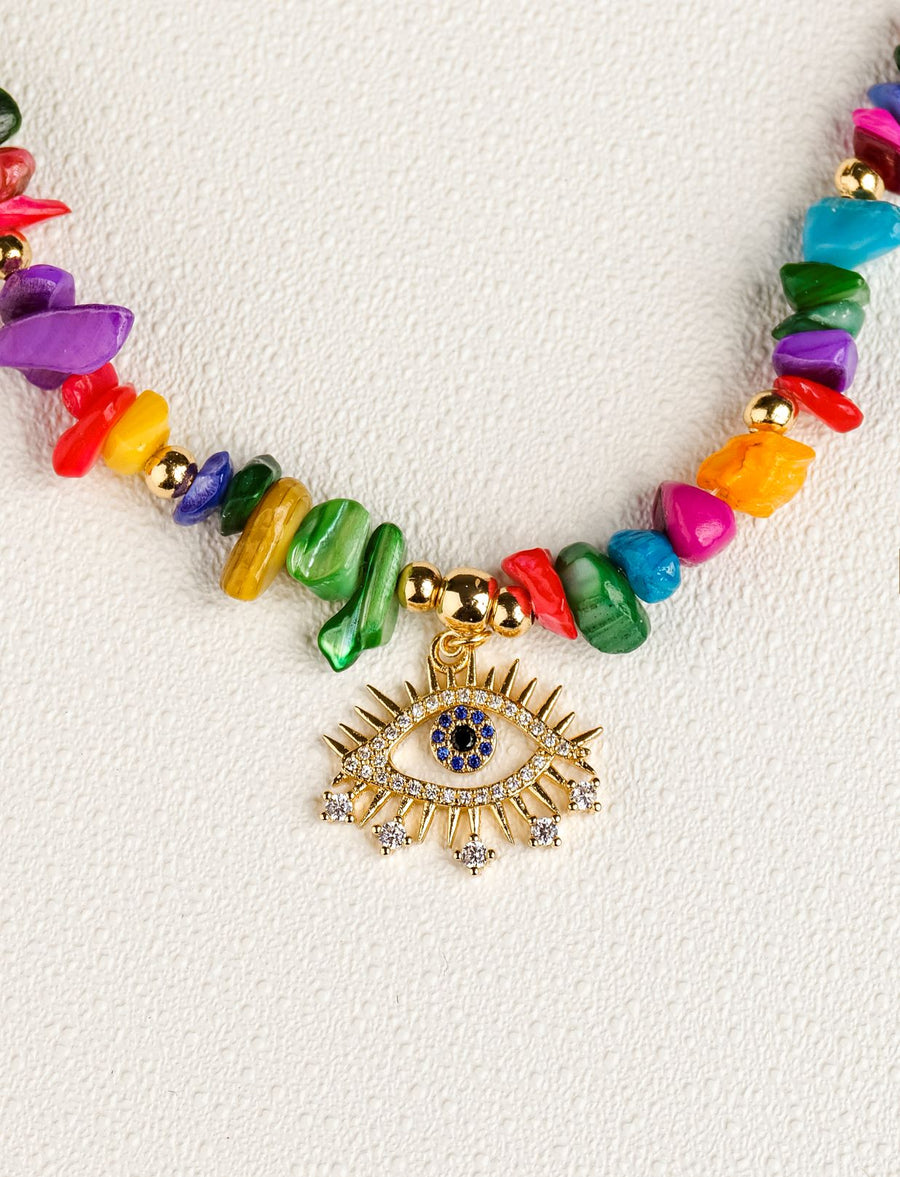 Renee Eye Necklace