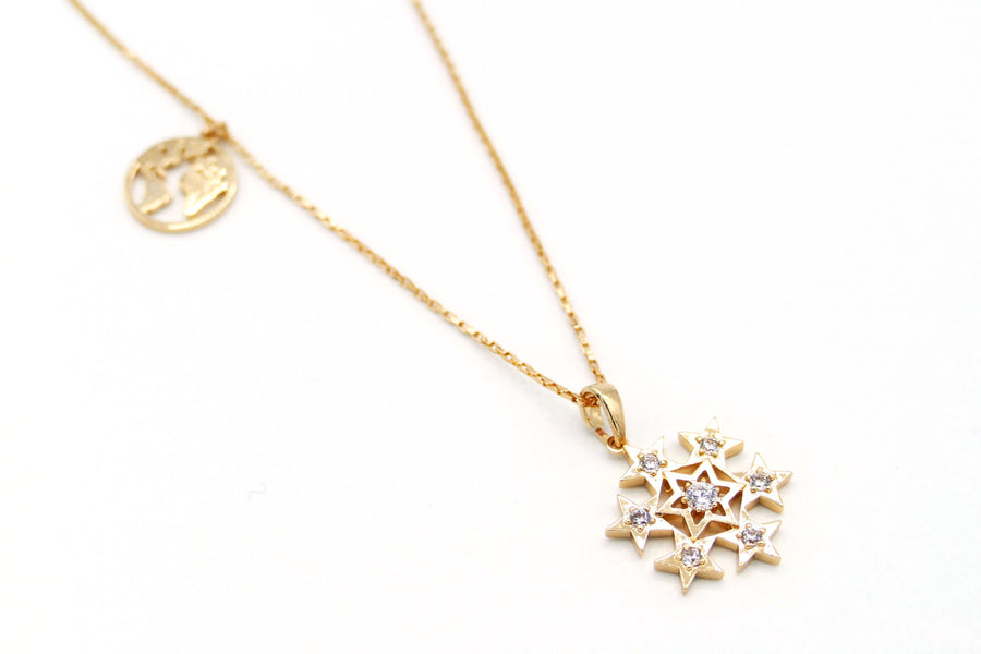 Snowy Charm Necklace