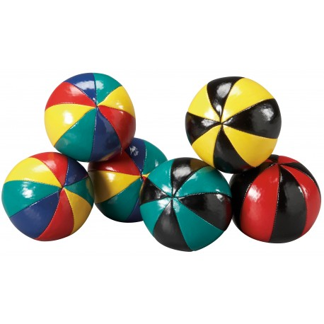 Multi-colour 8 Panel Juggling Ball
