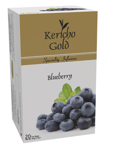 Kericho Gold Blueberry I Pure Kenyan Tea