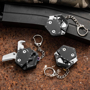 HIVE DRIVE™ 14 IN 1 MULTIFUNCTIONAL EDC KEYCHAIN