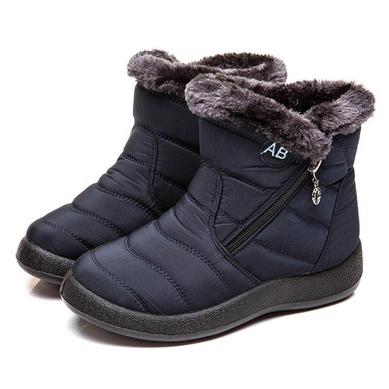 🔥50% OFF TODAY🔥-Women Fur Warm Snow Boots