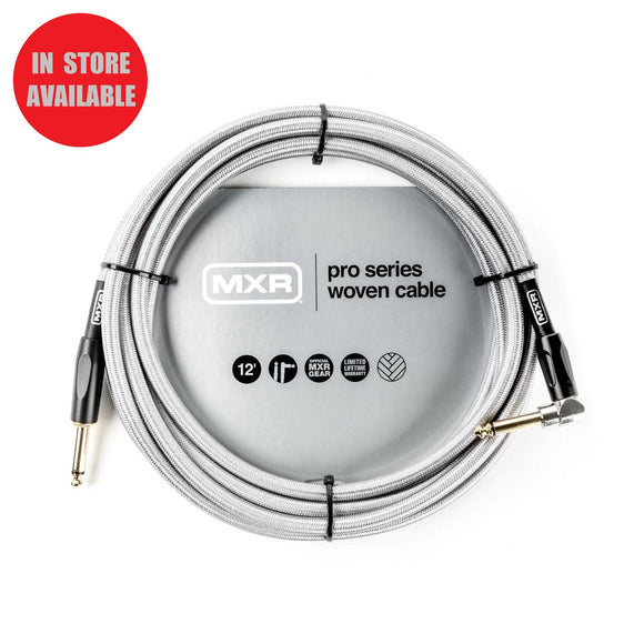 MXR Pro Series Woven Instrument Cable 12ft Straight/Angle