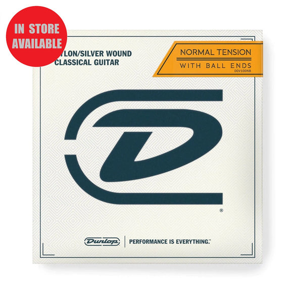 DUNLOP Normal Tension Ball End Nylon Guitar Strings