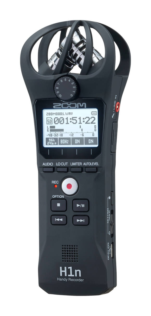 ZOOM H1n Handy Audio Recorder