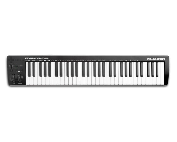 M-AUDIO Keystation 61 MK3 USB MIDI Keyboard Controller