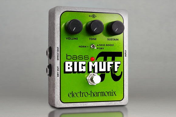 ELECTRO HARMONIX Bass Big Muff Pi Fuzz / Distortion / Sustainer
