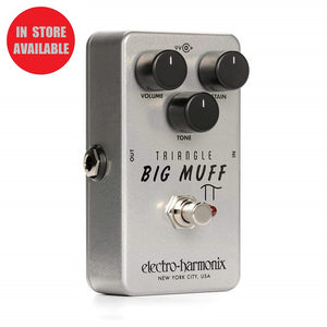 ELECTRO HARMONIX Triangle Big Muff Pi Fuzz / Distortion / Sustainer