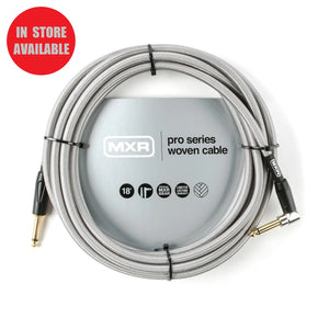 MXR Pro Series Woven Instrument Cable 18ft Straight/Angle