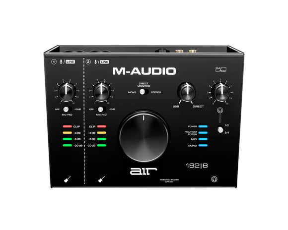 M-AUDIO Air 192 I 8 2-In/4-Out 24/192 Audio MIDI Interface
